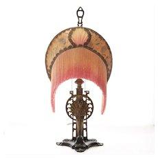 Circa 1920's Art Deco Figural lamp