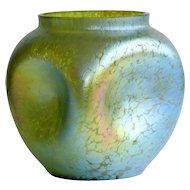 Monumental Circa 1900 Antique Loetz Candia Creta Papilon Vase