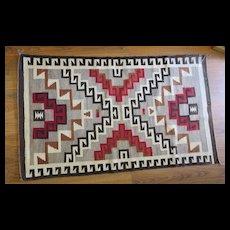 Exceptional Circa 1900 Navajo Native American Indian Rug