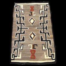 Vintage Circa 1900 Navajo Native American Indian Rug