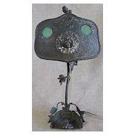 Antique Circa 1900 Art Nouveau Desk Lamp