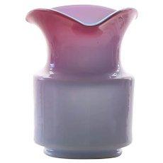 Circa 1880 Mt.Washington / Webb Cased Peachblow Vase