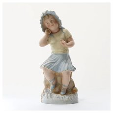 Antique German Bisque Statue