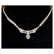 Vintage 18K Lady's Diamond Necklace