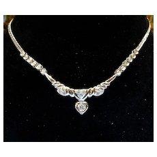 Vintage 18K Lady's Diamond Necklace