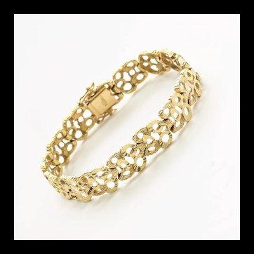 Lady's Vintage 18K Bracelet
