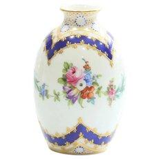 Vintage Signed Dresden Porcelain Vase