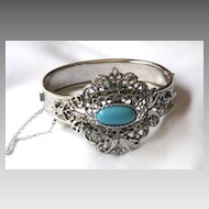 Unique Whiting & Davis Filigree Bracelet