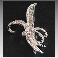 Pretty Rhinestone Brooch