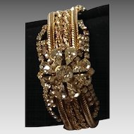 looks like Royalty!  7 inch rhinestone mesh bracelet. wow factor!
