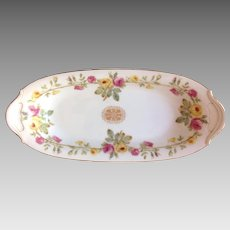 Limoges Tresseman and Vogt Relish Dish