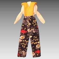 Vintage Mattel Barbie One-piece Jumpsuit #8685, 1973