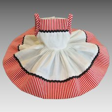 """Vintage Ideal 12"""" Shirley Temple Dress #9756"""