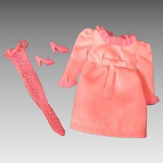 Vintage Barbie Little Bow Pink #1483, 1969-70