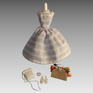 Vintage Mattel Barbie Suburban Shopper #969, TM tag, 1959-1964