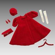 Vintage Mattel Barbie Red Flare #939, Complete, 1962-1965