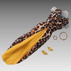 Vintage Mattel Barbie Leisure Leopard #1479, 1969-70