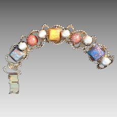 A fun and funky confetti bracelet 7 inch