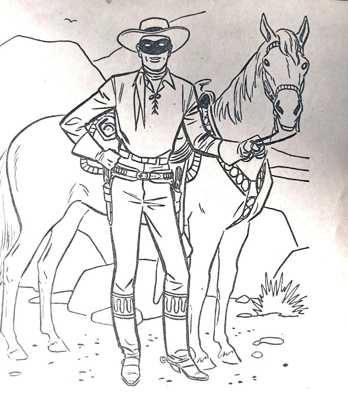Lone Ranger Coloring Pages Disney monster high info coloring pages ...