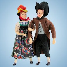 BAPS Costume Dolls, German Man and Woman