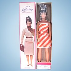 Lisa Littlechap Doll Mint in Original Box With Stand, Remco, Vintage 1960's