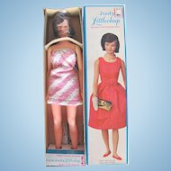 Remco Judy Littlechap Doll Mint in Original Box With Stand, Vintage 1960's