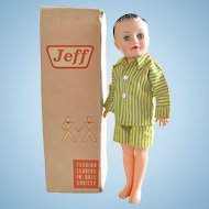 Vogue Jeff Doll in Original Box, Circa 1958