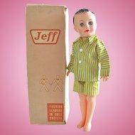 Vogue Jeff Doll in Original Box, Circa 1958