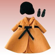 Coat, Hat and Heels, Fashion Fits Jill, Toni, Little Miss Revlon, Unlabeled, Vintage 1950s