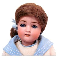 German Bisque Head Doll by Catterfelder Puppen Fabrik, Circa 1910s