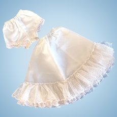 Fashion Doll Petticoat and Panties Set, Unused, Sized for Large Dolls