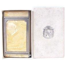 Girey Kamra Pac Compact in Original Box, Circa 1930s