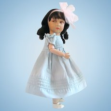 Princess Elizabeth Doll, 18-Inch, Rare French Variation, Unique Neck Attachment, Circa 1938