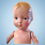 Kiddie Pal Doll, 13-Inch Composition Girl, Regal Mfg. Co., Circa 1930s