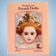 Treasury of French Dolls, Book by Lydia Richter