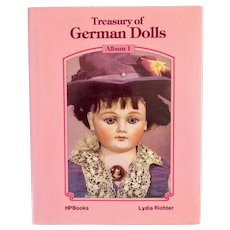 Treasury of German Dolls, Book by Lydia Richter
