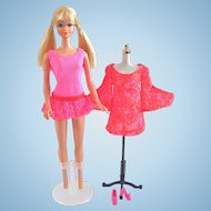 Mod-Era Twist & Turn PJ Doll, Swim Suit, Dress & Shoes Vintage 1970