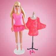 Mod-Era Twist & Turn PJ Doll, Swim Suit, Dress & Shoes Vintage 1970