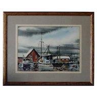Biloxi Shrimp Boats Anthony Shemroske 1956