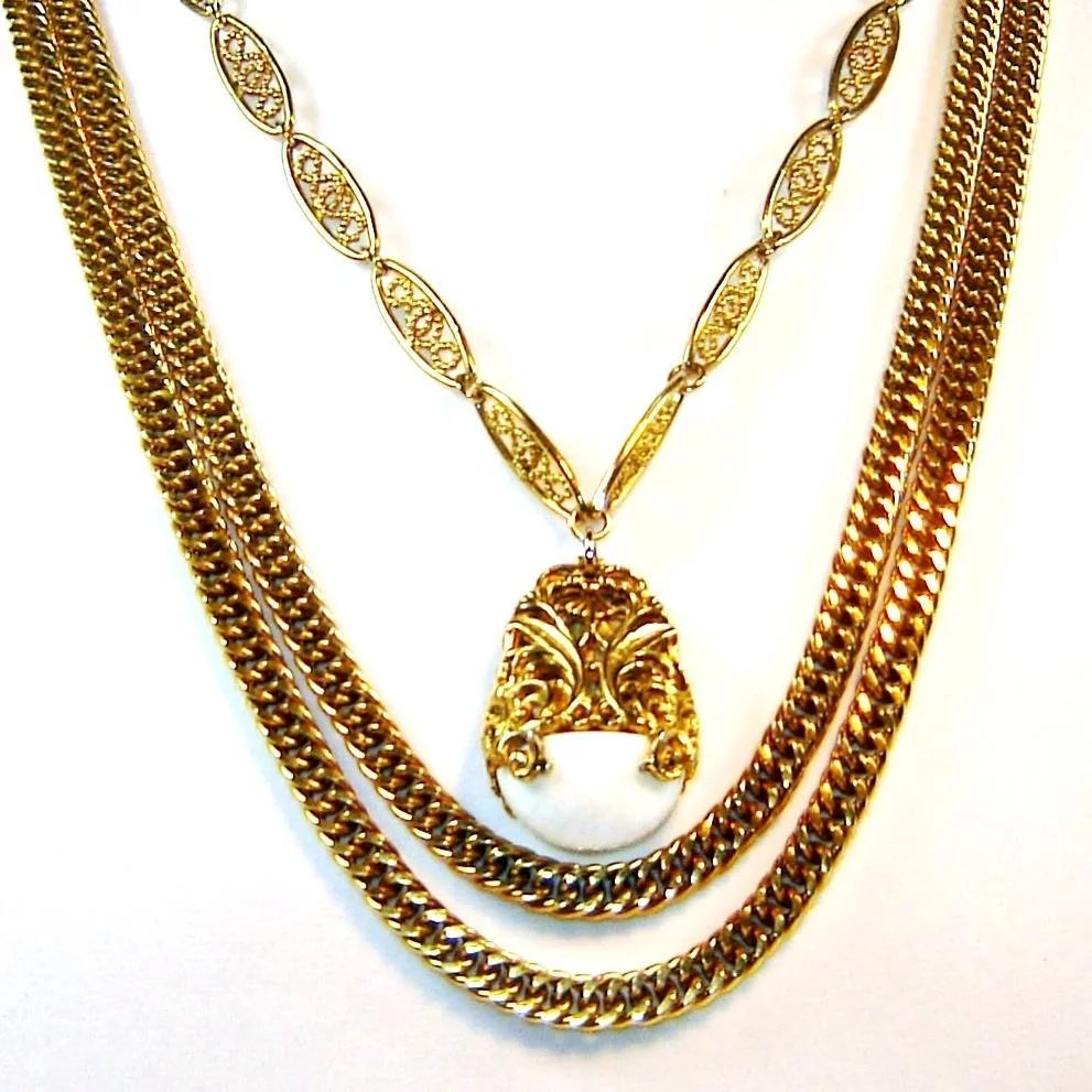 chains shop pendants necklaces izhar golden necklace