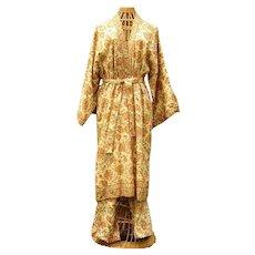 Vintage 1970s Anne Klein Donna Karan Kimono Coat Pants Gorgeous