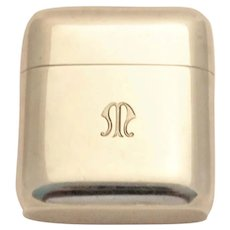Vintage Tiffany Sterling Silver Case For Safety Razor