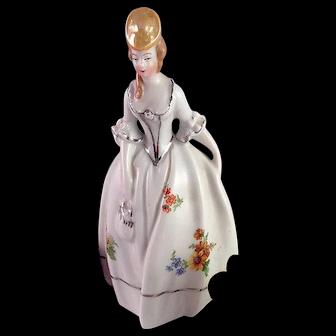 Lovely Vintage Porcelain Maiden Made in Bavaria