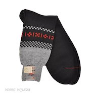 Vintage Mens Retro 1940s-50s Socks - Rhody, NOS  12