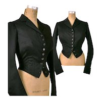 Victorian 1880s ~A L Bowhay~ Equestrian Riding Jacket