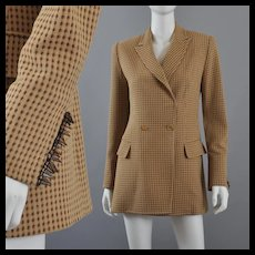 Vintage Gianfranco Ferre Dior Long Jacket Blazer S