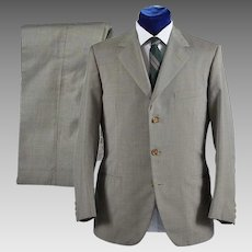 Vintage 1950s Mens Suit 2 pc 3 button,  by Marzotto  - 40