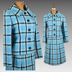 1960s Christian Dior New York Womens Suit