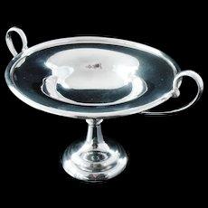 Silver Comport Tazza, London 1905, Carrington & Co