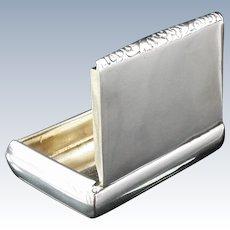 Silver Snuff Box, Edward Edwards, London 1835